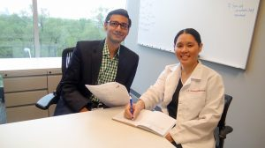 Babar A. Khan, MD, and Sophia Wang, MD Photo Credit: Center for Aging Research