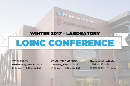 The LOINC Conference – Winter 2017