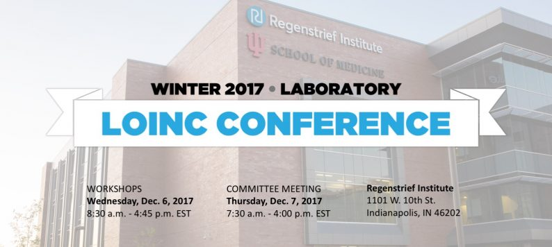 LOINC Conference Winter Laboratory 2017 poster