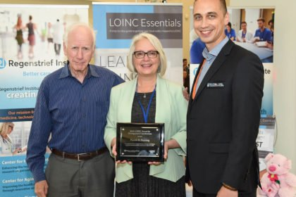 LOINC honors Pamela D. Banning for contributions to advancement of health data interoperability