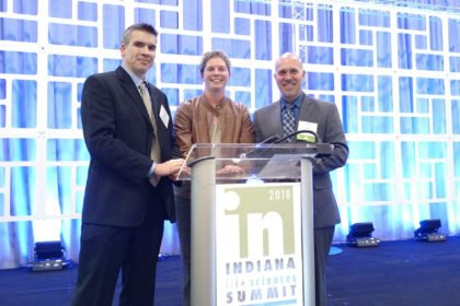 Regenstrief and IU Fairbanks School of Public Health Team Wins Inaugural BioCrossroads Indiana Inject Tech Challenge