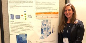 Andrea Broyles presents poster