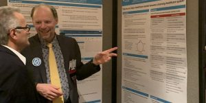 Titus Schleyer presents poster