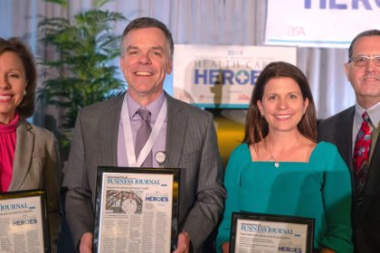 Regenstrief Scientists Honored as Health Care Heroes by Indianapolis Business Journal