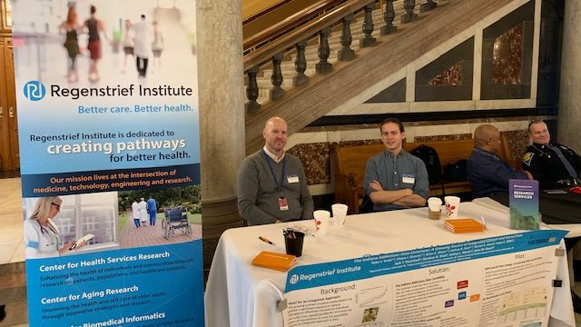 Regenstrief Showcases Work with State at Indiana Statehouse