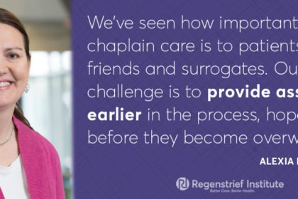 Regenstrief, IU Health Study Helps Chaplains Provide Proactive Care to Families in Crises