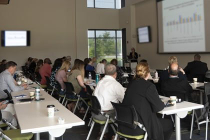 Regenstrief hosts meeting to highlight work in substance abuse and mental health field