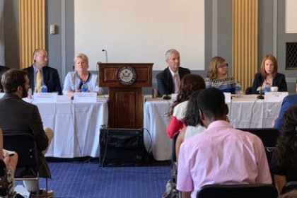 Regenstrief researcher briefs U.S. Senators, staff; encourages investment in patient medical record matching research