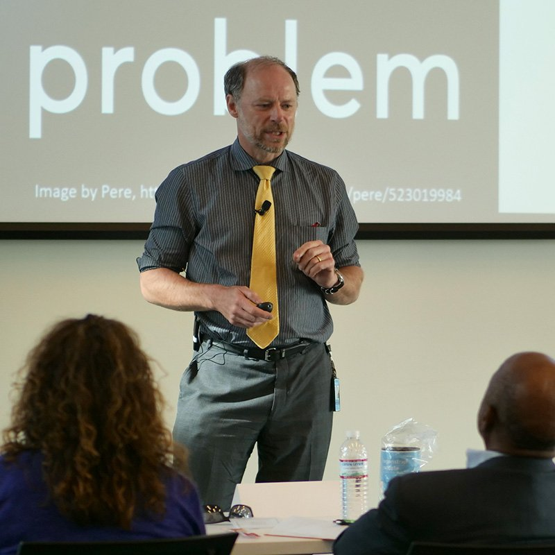 Titus Schleyer at Entrepreneurial session