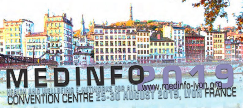 MedInfo 2019 Conference graphic