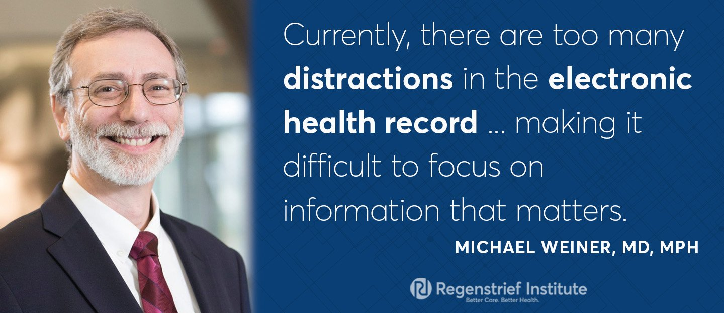 Regenstrief scientist recommends ways to improve electronic health records