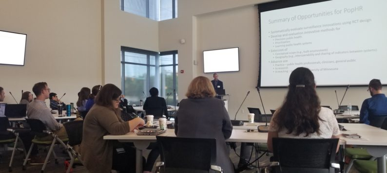 advancing population health informatics workshop