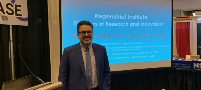 Peter Embi presents at AMIA 2019