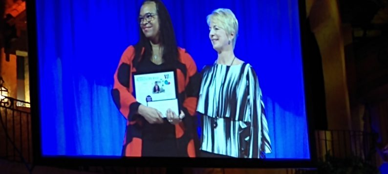 Dr. NiCole Keith wins IBJ Women of Influence award