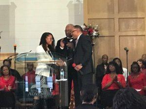 Johanne Eliacin receives Congressional Black Caucus Award