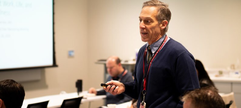 Dr. Tom Imperiale presents at faculty development series