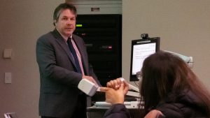 Dr. Cimino presents SAM Talk