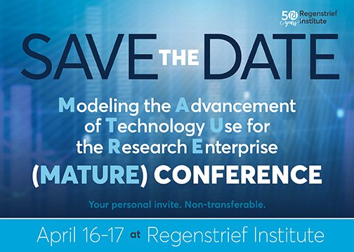 Save the Date: MATURE Conference
