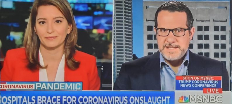 Dr. Aaron Carroll discusses coronavirus on MSNBC