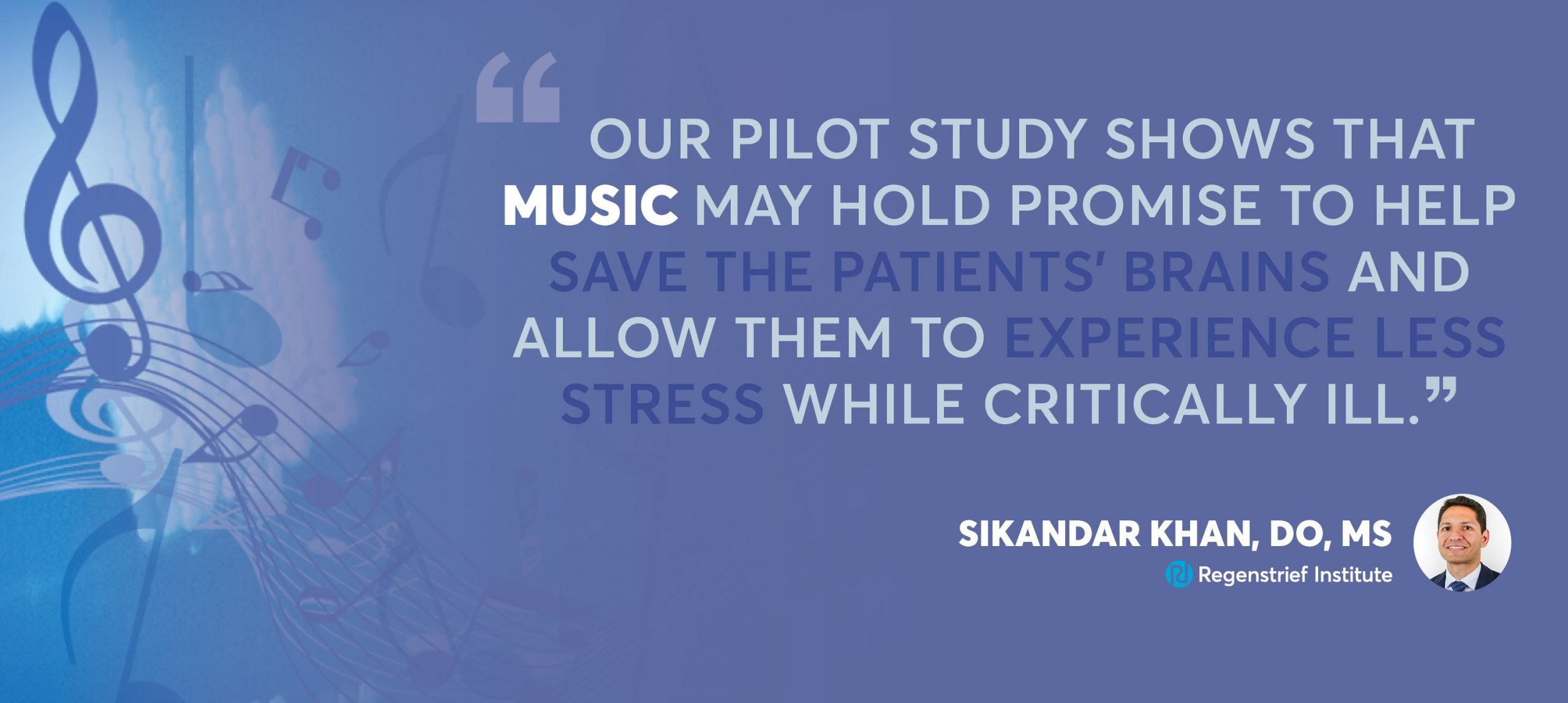 Music shows promise in decreasing delirium in critically ill patients