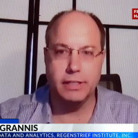 Dr. Grannis explains predictive modeling to CBS4
