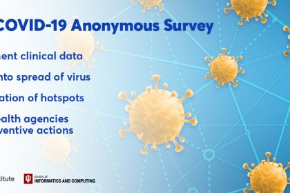 Regenstrief, IU to conduct anonymous national COVID-19 survey for wider view of outbreak