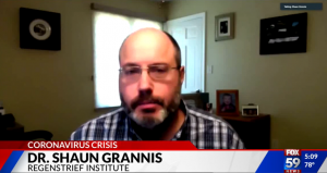 Dr. Shaun Grannis interview with FOX59