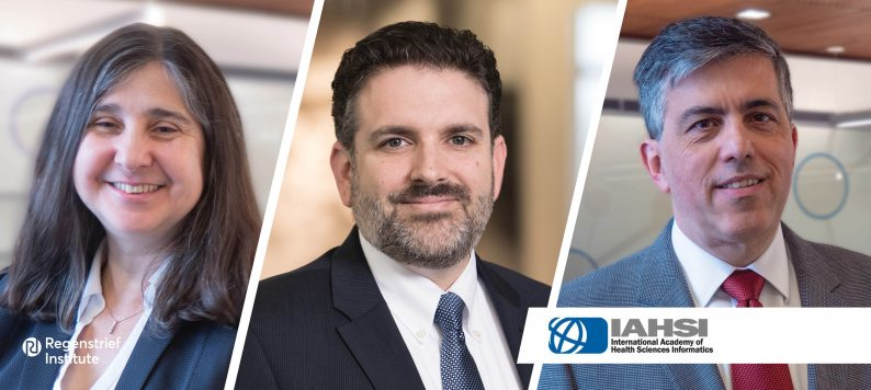 Dr. Mendonca, Dr. Embi and Dr. Tachinardi elected as Fellows in the International Academy of Health Sciences Informatics