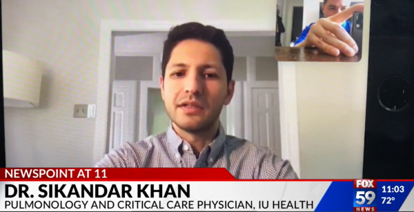 Dr. Sikandar Khan on FOX59