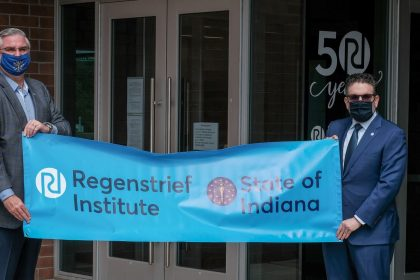 Indiana governor, Indianapolis mayor recognize Regenstrief for contributions to healthcare in Indiana