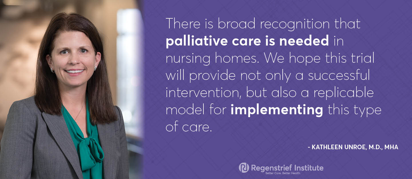 Effort to develop model to provide palliative care in nursing homes receives funding