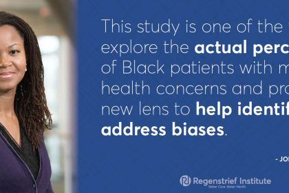 Study offers real world perspective on how Black patients experience mental healthcare