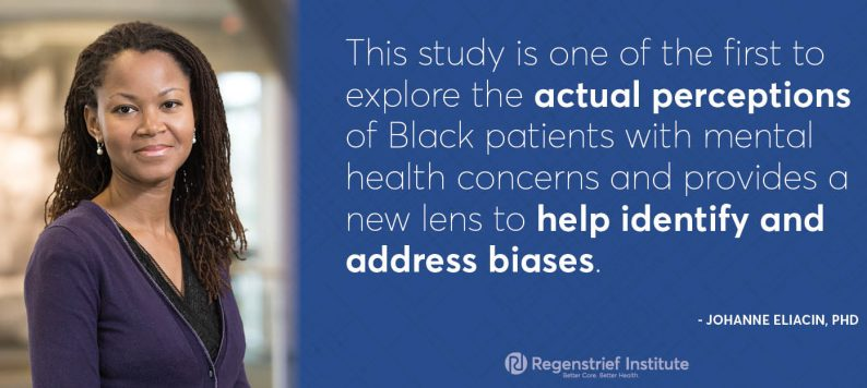 Dr. Johanne Eliacin on how Black patients experience mental healthcare