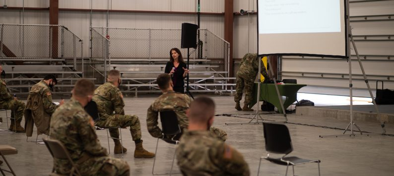 Dr. Unroe trains National Guard to work in nursing homes