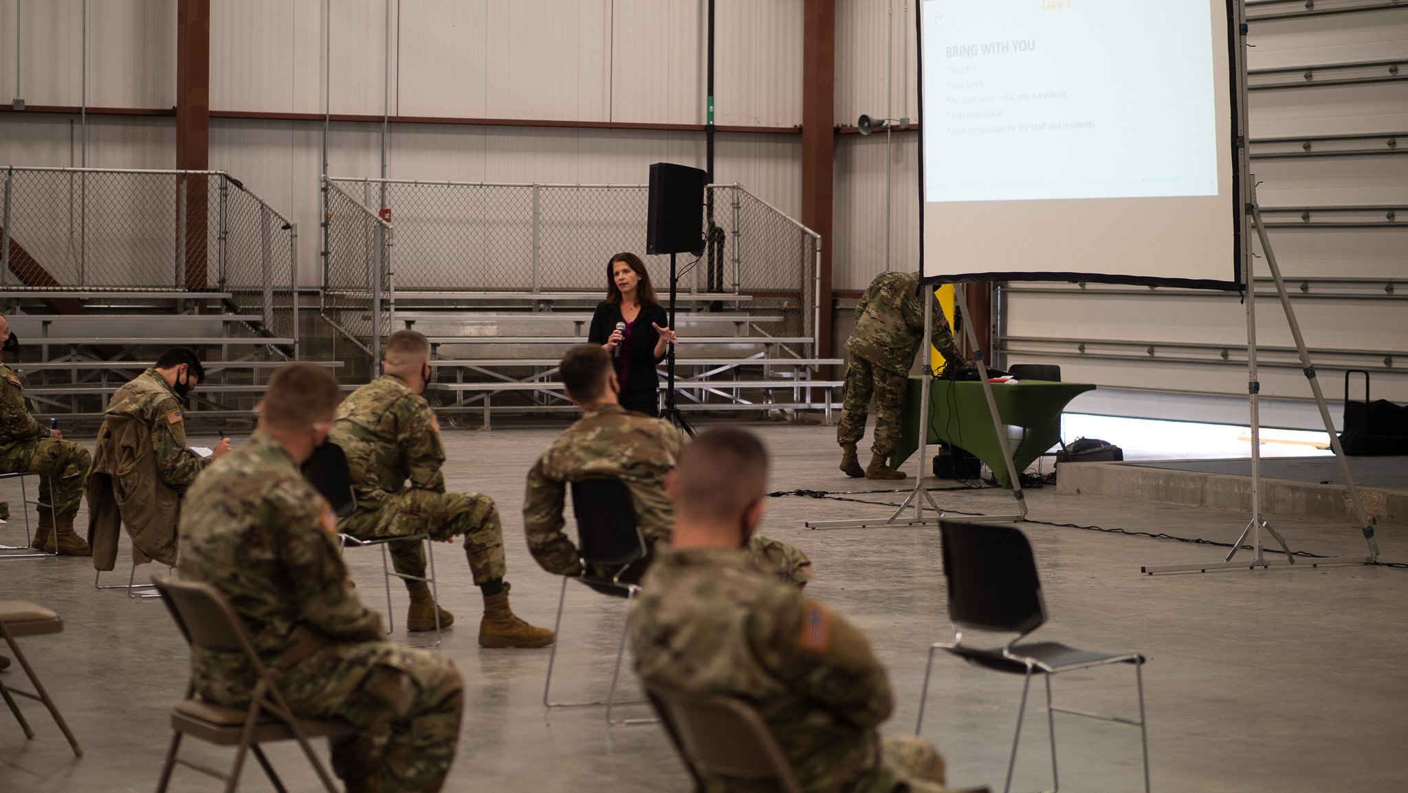 Regenstrief research scientist provides training for Indiana National Guard