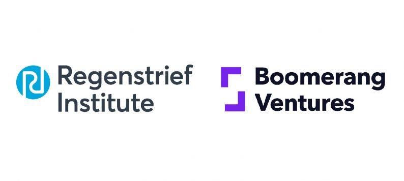 Regenstrief and Boomerang Ventures logos to announce partnership