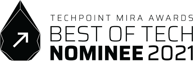 techpoint mira awards logo graphic