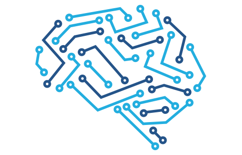 brain illustration - digital, information