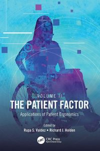 The Patient Factor book cover with image of woman in wheelchair