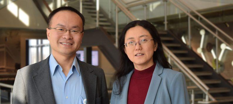 Dr. Kun Huang and Dr. Jie Zang